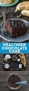 This healthier chocolate cake tast - 230 Chocolate Dessert Recipes - RecipePin.com