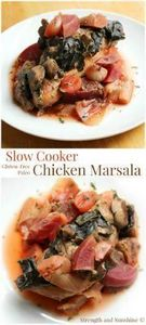 Slow Cooker Chicken Marsala - 285 Crock Pot Recipes - RecipePin.com