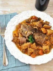 Vegetable and Beer Pot Roast Stew - 285 Crock Pot Recipes - RecipePin.com