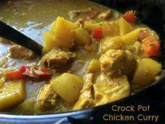 Crock Pot Chicken Curry After maki - 285 Crock Pot Recipes - RecipePin.com