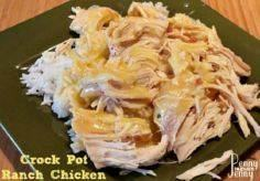 Crock Pot Ranch Chicken Only Four  - 285 Crock Pot Recipes - RecipePin.com