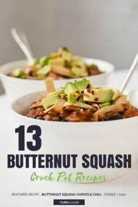 13 Butternut Squash Recipes That W - 285 Crock Pot Recipes - RecipePin.com