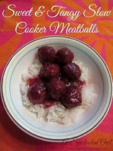 Sweet & Tangy Slow Cooker Meat - 285 Crock Pot Recipes - RecipePin.com