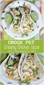 3 Ingredient Crock Pot Creamy Chic - 285 Crock Pot Recipes - RecipePin.com