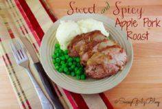 Sweet and Spicy Slow Cooker Apple  - 285 Crock Pot Recipes - RecipePin.com