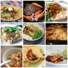 A collection of slow cooker meals - 285 Crock Pot Recipes - RecipePin.com