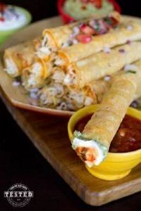Crockpot Cream Cheese Taquitos - U - 285 Crock Pot Recipes - RecipePin.com