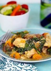Butternut Squash Chicken in the #s - 285 Crock Pot Recipes - RecipePin.com