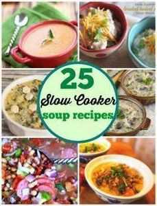 25 of some of the best Slow Cooker - 285 Crock Pot Recipes - RecipePin.com