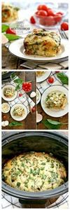 Crockpot Healthy Sausage Mediterra - 285 Crock Pot Recipes - RecipePin.com