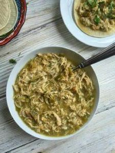 Slow Cooker Salsa Verde Chicken Ta - 285 Crock Pot Recipes - RecipePin.com