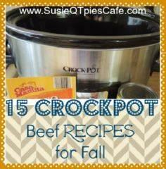 15 Beef Crockpot Recipes for Fall  - 285 Crock Pot Recipes - RecipePin.com