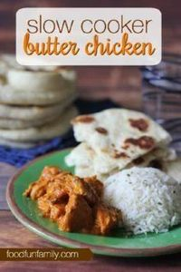This slow cooker butter chicken re - 285 Crock Pot Recipes - RecipePin.com