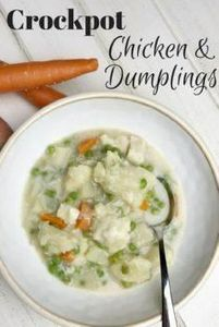 Slow Cooker Chicken and Dumplings. - 285 Crock Pot Recipes - RecipePin.com