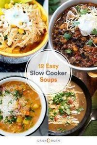 Soup's Up! 12 Insanely Easy Crock- - 285 Crock Pot Recipes - RecipePin.com