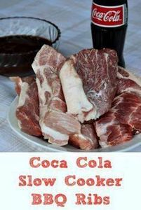 These Coca-Cola Slow Cooker BBQ Ri - 285 Crock Pot Recipes - RecipePin.com