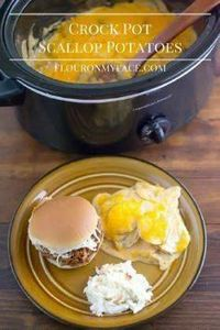 These cheesy Crock Pot Scallop Pot - 285 Crock Pot Recipes - RecipePin.com