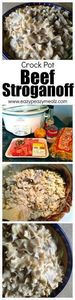 Fast, easy to make, beef stroganof - 285 Crock Pot Recipes - RecipePin.com
