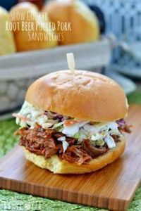 Slow Cooker Root Beer Pulled Pork  - 285 Crock Pot Recipes - RecipePin.com