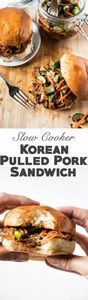Slow Cooker Korean Pulled Pork wit - 285 Crock Pot Recipes - RecipePin.com
