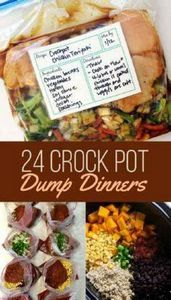 24 Dump Dinners You Can Make In A  - 285 Crock Pot Recipes - RecipePin.com