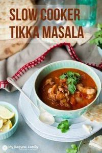 Slow Cooker Tikka Masala1 - 285 Crock Pot Recipes - RecipePin.com