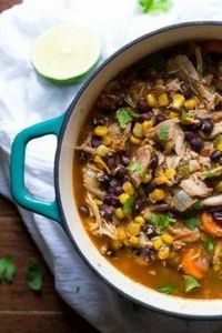 Slow Cooker Mexican Chicken Stew. - 285 Crock Pot Recipes - RecipePin.com