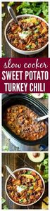 Slow Cooker Sweet Potato Turkey Ch - 285 Crock Pot Recipes - RecipePin.com