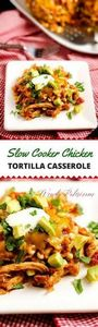 This Slow Cooker Chicken Tortilla  - 285 Crock Pot Recipes - RecipePin.com
