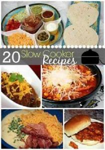 20 Slow Cooker Recipes! - 285 Crock Pot Recipes - RecipePin.com