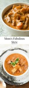 Moms Fabulous Slow Cooker Stew - 285 Crock Pot Recipes - RecipePin.com