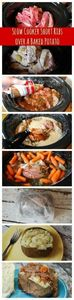 Slow Cooker Short Ribs Over Baked  - 285 Crock Pot Recipes - RecipePin.com