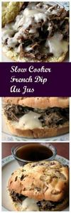 Slow Cooker French Dip Au Jus - 285 Crock Pot Recipes - RecipePin.com