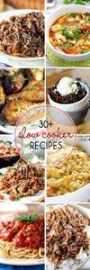 30 + Slow Cooker Recipes - 285 Crock Pot Recipes - RecipePin.com