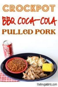Crockpot BBQ Coca-Cola Pulled Pork - 285 Crock Pot Recipes - RecipePin.com