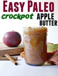 Easy Paleo Apple Butter - 285 Crock Pot Recipes - RecipePin.com