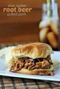 Root Beer Pulled Pork ~  Ingredien - 285 Crock Pot Recipes - RecipePin.com