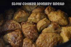 Slow Cooker Monkey Bread Recipe - 285 Crock Pot Recipes - RecipePin.com
