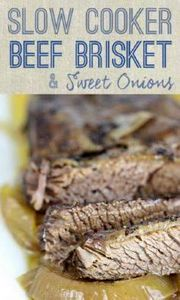 Simple and Slow: Brisket with Swee - 285 Crock Pot Recipes - RecipePin.com