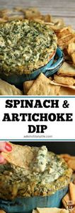 Oooey gooey Spinach and Artichoke  - 190 Dip Recipes - RecipePin.com