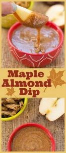 This quick and easy maple almond d - 190 Dip Recipes - RecipePin.com