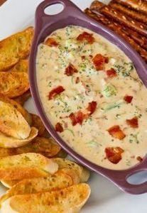 Broccoli and Bacon Beer Cheese Dip - 190 Dip Recipes - RecipePin.com