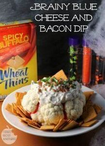 Brainy Blue Cheese and Bacon Dip:  - 190 Dip Recipes - RecipePin.com