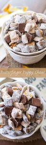 This easy puppy chow recipe is ful - 190 Dip Recipes - RecipePin.com