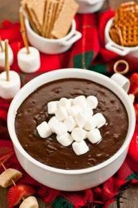 This Hot Chocolate Dip is an easy  - 190 Dip Recipes - RecipePin.com
