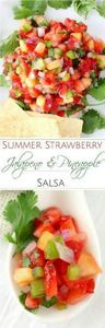 The Chunky Chef | Strawberry Jalap - 190 Dip Recipes - RecipePin.com