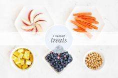 5 Healthy Backup Treats - Pretty F - 400 Dog Food And Dog Treat Recipes - RecipePin.com