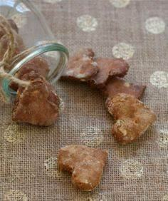 DIY Grain-Free Dog Treats (will tr - 400 Dog Food And Dog Treat Recipes - RecipePin.com
