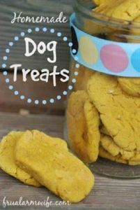 Easy homemade dog treats recipe fo - 400 Dog Food And Dog Treat Recipes - RecipePin.com