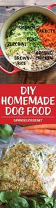 DIY Homemade Dog Food - Keep your  - 400 Dog Food And Dog Treat Recipes - RecipePin.com